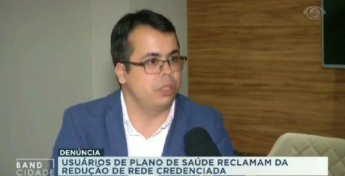 Problemas com Plano de Saúde: Confira matéria da Band Bahia com Saulo Daniel Lopes